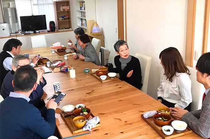 地域住民の食と交流を支える地域食堂